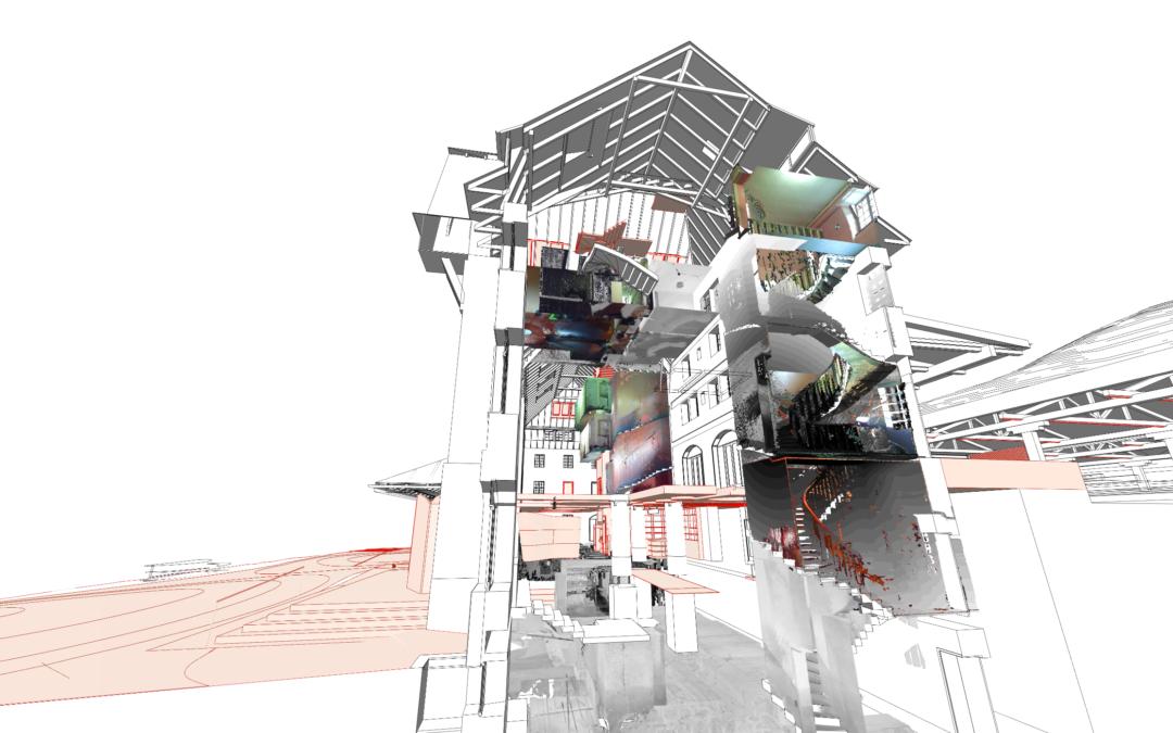 Prototype du jumeau numérique de la gare de Vallorbe